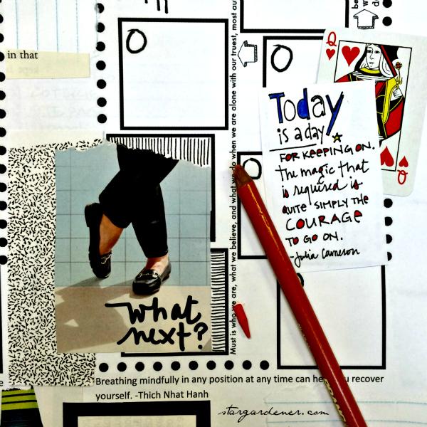 Week 40 planning page